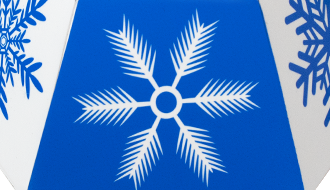 Snowflake Polygon Pop-Up